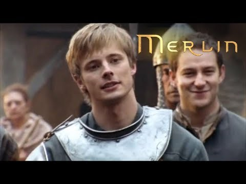 Merlin - Series 1 - Episode 1 - Merlin and Arthur Fight (2008)