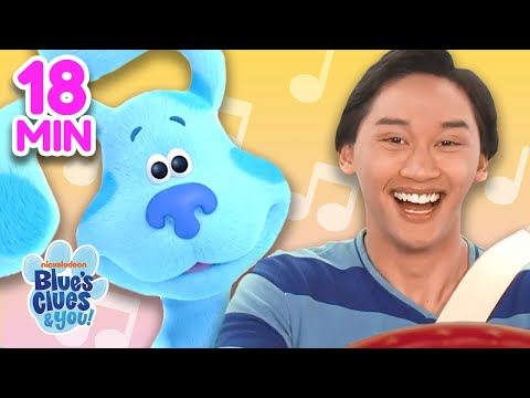 School Bus Sing Along 🎶 Compilation! | Nursery Rhymes for Kids | Blue's Clues & You!