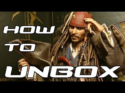 How To Unbox #027 - Hot Toys - DX15 - Jack Sparrow - Pirates of the Caribbean -  Unboxing