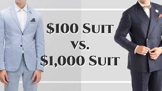 Video $100 Suit vs $1000 Suit - Differences Between Cheap & Expensive Suits - Gentleman's Gazette MP3, 3GP, MP4, WEBM, AVI, FLV Juli 2018