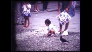 8ミリによる40年前の家族旅行の映像(テレシネ)