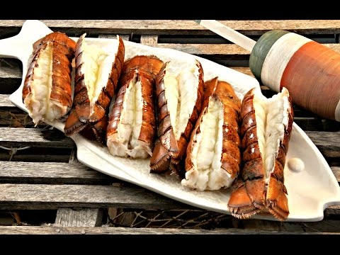 Frozen Lobster Tails On the Grill - LobsterAnywhere.com