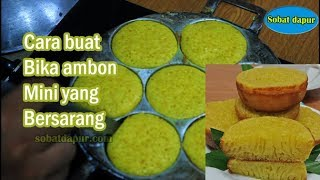 Video Resep bika ambon mini bersarang irit telur enak MP3, 3GP, MP4, WEBM, AVI, FLV Juni 2019