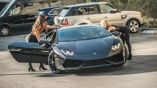 Video PICKING UP UBER RIDERS IN A LAMBORGHINI HURACAN PRANK! | HoomanTV MP3, 3GP, MP4, WEBM, AVI, FLV Februari 2019