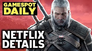 The Witcher Netflix Show Details Revealed - GameSpot Daily by GameSpot