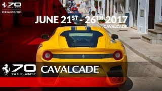 """The sixth edition of the Ferrari Cavalcade – a """"travelling show"""" of over one hundred Ferraris coming from all over the world – took place in Apulia from 21 to 26 June. The event is restricted to the most loyal customers and collectors, who share their passion for the Prancing Horse by visiting some of Italy's most beautiful areas every year.The """"base camp"""" of Ferrari Cavalcade was at Borgo Egnazia, in the Savelletri countryside that straddles the Brindisi and Bari provinces. From there, all participants drove along scenic routes in their Ferraris, meandering through villages and cities of art. The programme combined Mediterranean charm and sheer driving fun, and gave the opportunity to celebrate the 70th anniversary of Ferrari. Go to the Web Special: http://Ferrari70.comSubscribe ferrariworld: http://www.youtube.com/subscription_center?add_user=ferrariworldFollow us on Facebook http://www.facebook.com/Ferrari and Twitter http://twitter.com/ferrariFerrari Since 1947http://www.ferrari.com"""