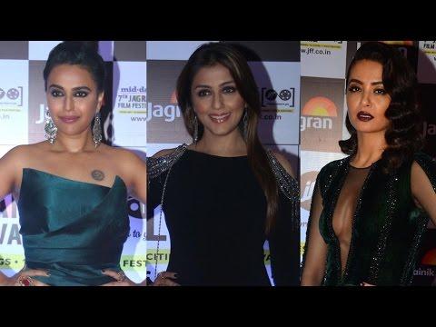 Video UNCUT - Mid Day 7th Jagran Film Festival Awards Night | Swara Bhaskar & Surveen Chawla download in MP3, 3GP, MP4, WEBM, AVI, FLV January 2017