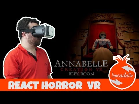 Annabelle: Creation VR - Bee's Room React