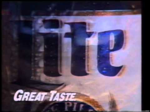 Miller Lite Luge Bowling TV Commercial @ 1993