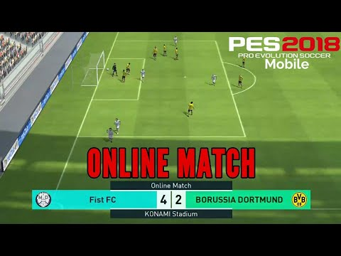 PES 2018 MOBILE : Online Match - PRO EVOLUTION SOCCER | ONLINE MULTIPLAYER | PES 18 |
