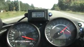 9. kawasaki ZX9R Turbo Top Speed Run