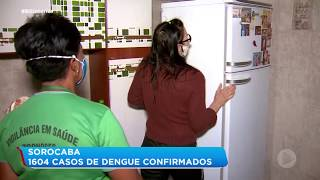 Número de casos de dengue preocupa em Sorocaba