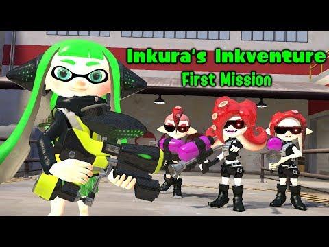 [Splatoon GMOD] Inkura's Inkventure - First Mission (видео)