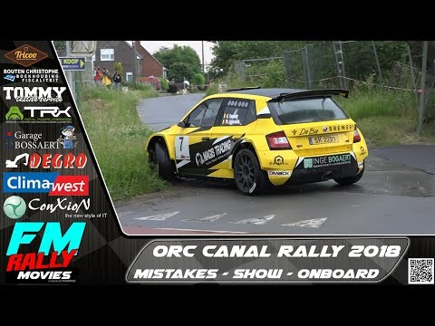 ORC Canal rally 2018 | MISTAKES - SHOW - ONBOARD [HD]