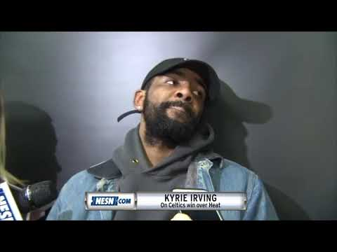 Video: Kyrie Irving after the Celtics 107-99 win over Heat