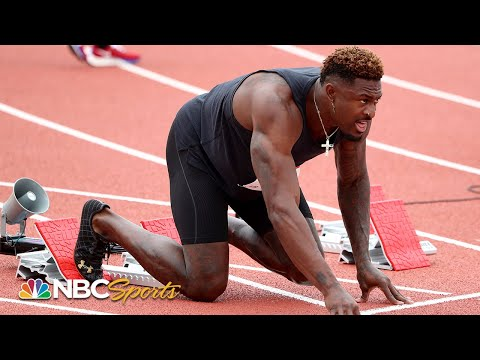 Seattle Seahawks wide receiver DK Metcalf competes in 100m race at USATF Golden Games   NBC Sports