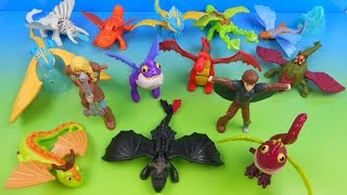 Video 2014 HOW TO TRAIN YOUR DRAGON 2 SET OF 14 McDONALD'S HAPPY MEAL MOVIE TOY'S VIDEO REVIEW MP3, 3GP, MP4, WEBM, AVI, FLV Juni 2018