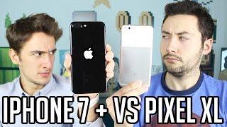 Video LE GROS FIGHT : iPhone 7 Plus VS Google Pixel XL ! MP3, 3GP, MP4, WEBM, AVI, FLV Agustus 2017