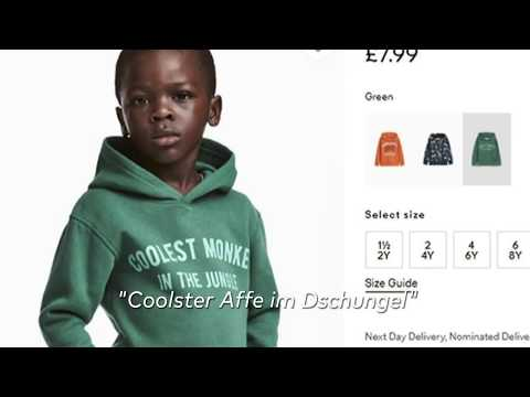 Rassismusvorwürfe: H&M kassiert deftigen Shitstorm wege ...