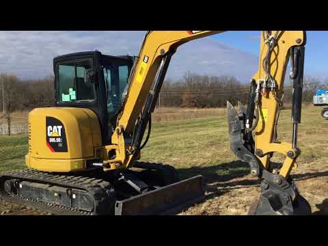 CATERPILLAR KOPARKI GĄSIENICOWE 305.5E2LC equipment video zdCboqc60II
