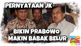 Video Pernyataan JK Bikin Prabowo Makin Ba(b)ak Be(l)ur MP3, 3GP, MP4, WEBM, AVI, FLV Februari 2019
