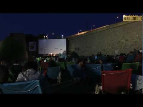 Verano en Barcelona. Cinema a la fresca