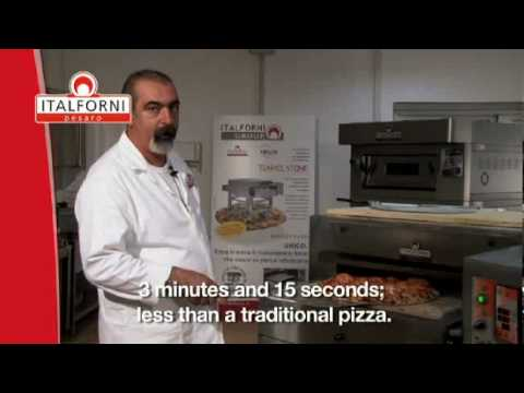 Pizzaofen tunnelpizzaofen - Italforni -  Marino