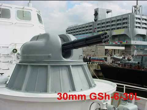 1. 30mm GSh-301 Single-Barrel Aircraft...