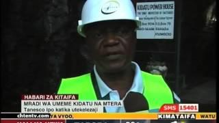Kidatu Tanzania  city photos : 270415 MRADI WA UMEME KIDATU, Tanesco ipo katika utekelezaji