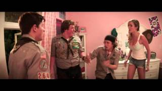 "Scouts Guide to the Zombie Apocalypse | Clip: ""Trampoline"" 
