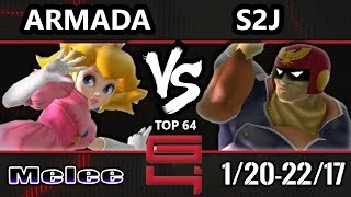 Video Genesis 4 SSBM - [A] Armada (Peach) Vs. Tempo | S2J (Captain Falcon) Smash Melee Winners Ro16 MP3, 3GP, MP4, WEBM, AVI, FLV Februari 2018