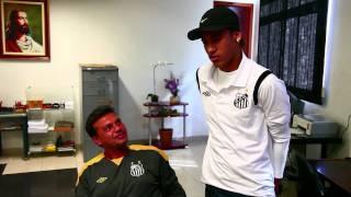 Neymar visita time sub-15