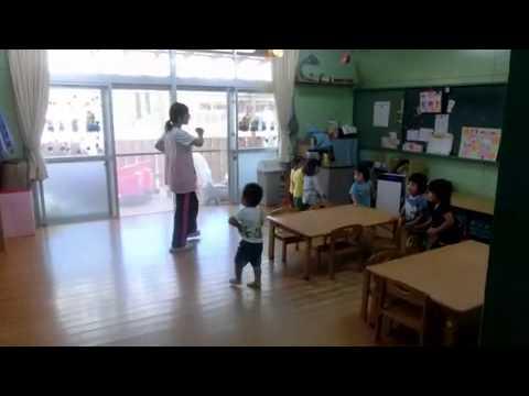 朝のおあつまりの歌は加津佐若木保育園2歳児