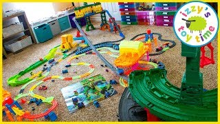 Video THOMAS SUPER STATION TRACKMASTER MEGA CITY. Two Super Stations, Two Rooms, HUGE! MP3, 3GP, MP4, WEBM, AVI, FLV Januari 2019