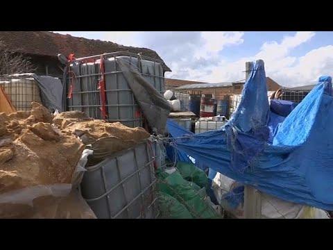 100 Tonnen Giftmüll in Serbien entdeckt