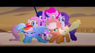 When a dark force threatens Ponyville and the Mane 6, they go on a journey to the end of Equestria to save their beloved home and they meet new friends and dangerous challenges along the way.My Little Pony: The Movie opens at AMC Theatres on October 6!