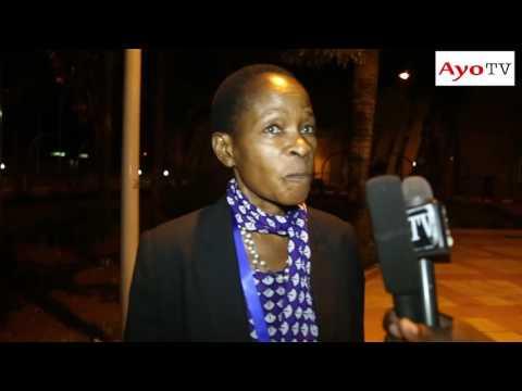 Mbunge wa Muleba Kusini Prof Anna Tibaijuka kaatika mahojiano May 20,2016