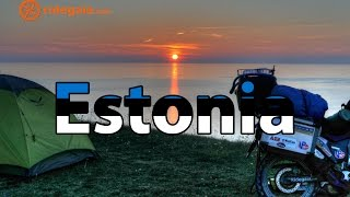 Ep 15 - Estonia - Motorcycle Trip around Europe