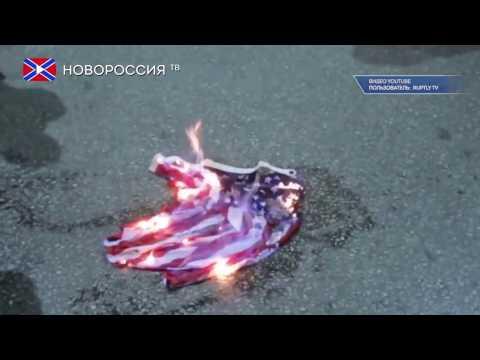 """Yankee go home! Обаму """"тепло"""" принимали в Афинах"""