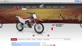 11. 2013 HONDA CRF110F FIRST LOOK !!