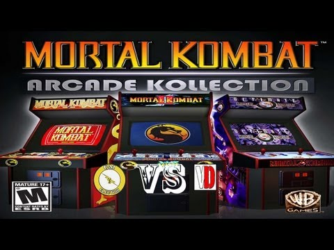 Mortal Kombat Kollection CmElektrik vs Vlad Douglas Часть 1  =)