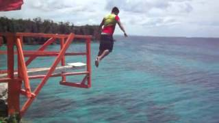Medellin Philippines  City new picture : My first cliff jumping at funtastic island , medellin, Cebu, Philippines