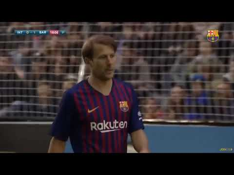 Gaizka Mendieta – Gol FCB Legends vs Inter 5V5