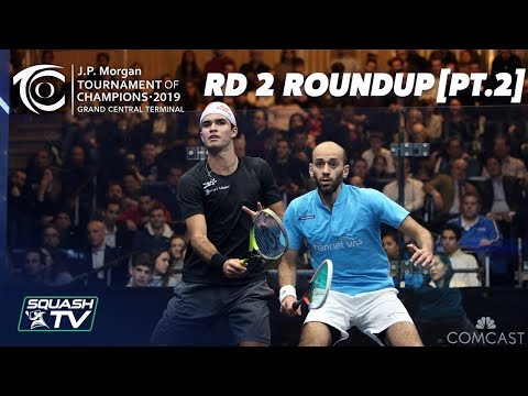 Squash: Tournament of Champions 2019 - Men's Rd 2 Roundup [Pt.2]