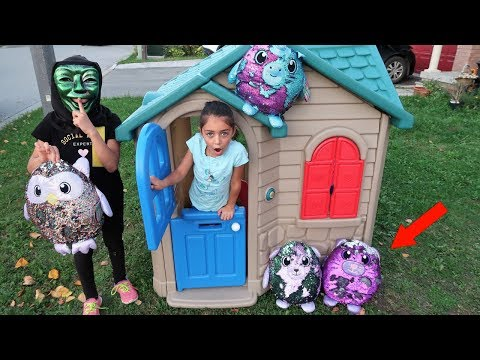 Heidi and Toys Delivery to Playhouse - Funny Videos for Kids
