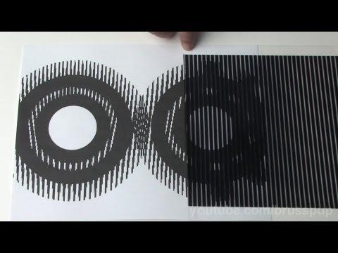 超神奇的視覺藝術,竟然讓平面的圖案動了起來!?