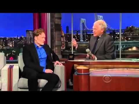Conan O Brien Interview david Letterman
