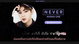 Video [Karaoke Thaisub] NEVER - WANNA ONE MP3, 3GP, MP4, WEBM, AVI, FLV Juni 2018