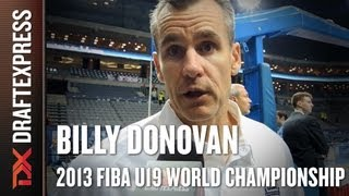 Billy Donovan Interview at the 2013 FIBA U19 World Championship in Prague