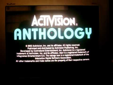 Activision Anthology Playstation 2